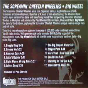 The Screamin' Cheetah Wheelies - Big Wheel download free